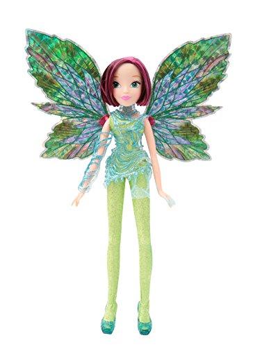 Giochi Preziosi Winx Puppe WOW Dreamix mit abnehmbaren Flügeln, Puppe Aisha Tecna