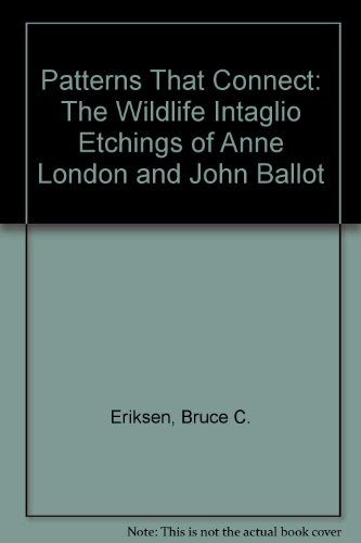Patterns That Connect: The Wildlife Intaglio Etchings of Anne London and John Ballot Intaglio Pattern