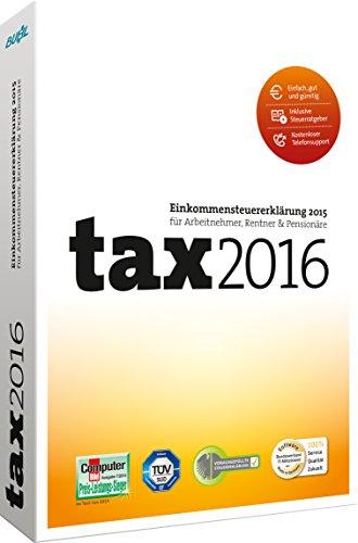 Buhl Data Service tax 2016 (für Steuerjahr 2015)