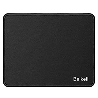 Beikell Mouse Mat, Stitched Edges Gaming Mouse Pad Mat Smooth Comfortable Touch Textured Surface with Non-Slip Rubber Base