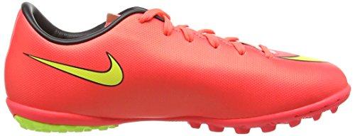 Nike - Mercurial Victory V Tf, Scarpa Da Calcetto infantile Rosso (Rot (Hypr Punch/Mtlc Gld Cn-Blk-Vlt 690))