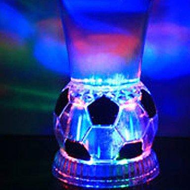 CLCJW Éclairage créatif,1pc coloré couleur créatif barres KTV LED lampe nuit lumière LED drinkware