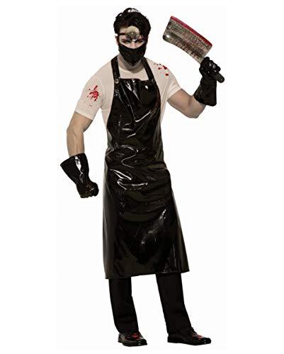 Doktor Kostüm Horror - Horror-Shop Crazy Psycho Doktor Kostüm für Halloween - One Size
