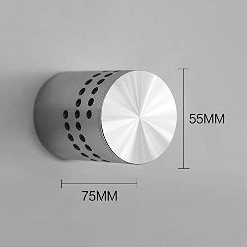 DEED Wandleuchte Korridor Gang Schlafzimmer Flush Mount Wand 3 LED Integrierte Galvanik Funktion für LED-Lampe Enthalten Umgebungslicht dekorative Leuchten,3W,Weißes Licht -