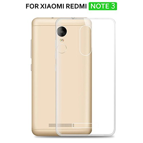 TheGiftKart™ ULTRA Clear Soft Silicon Flexible Transparent Back Cover For Xiaomi Redmi NOTE 3  available at amazon for Rs.135
