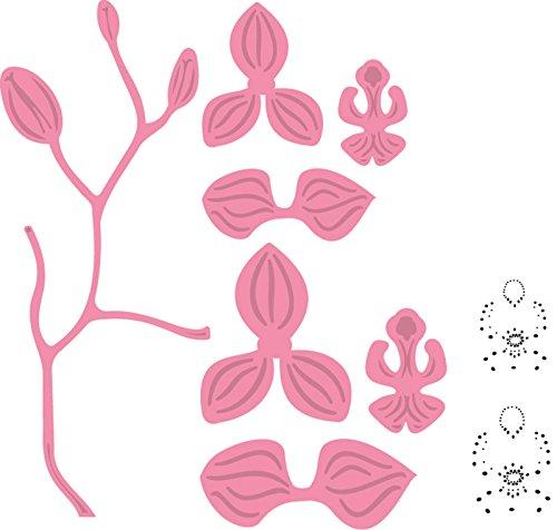 marianne-design-col1379-dies-de-decoupe-dessin-orchidee-metal-rose-119-x-48-x-04-cm