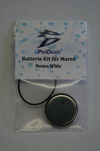 Kit de batterie/Kit pour ordinateur de plongée Mares Nemo Wide