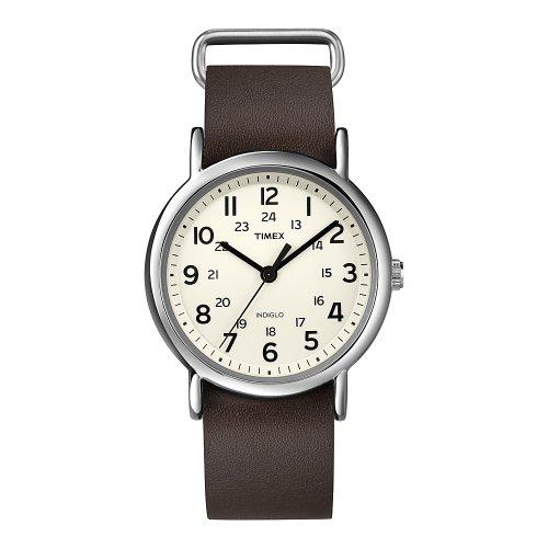 413WTB706YL - Timex T2N893 Weekender Indiglo Beige watch