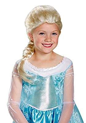 Girls Frozen Elsa Wig de Disguise