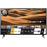 LG 43UM7100PLB 43 Inch UHD 4K HDR Smart LED TV with Freeview Play - Ceramic Black (2019 Model)