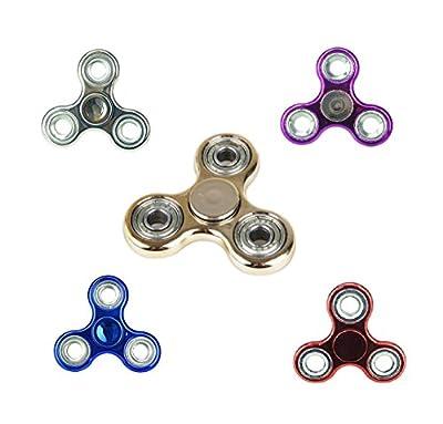 Metalic Fidget Spinner - Assorted Colours - Fidget Hand Spinner