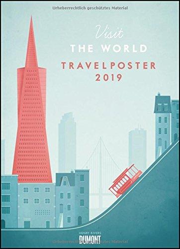 Travelposter 2019 – Reiseplakate-Kalender von DUMONT– Wand-Kalender – Poster-Format 49,5 x 68,5 cm (Wand Architektur)