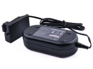 Pixtic - Adaptateur secteur ACK-E8 DR-E8 pour appareil photo numérique Canon EOS 550D 600D 650D 700D