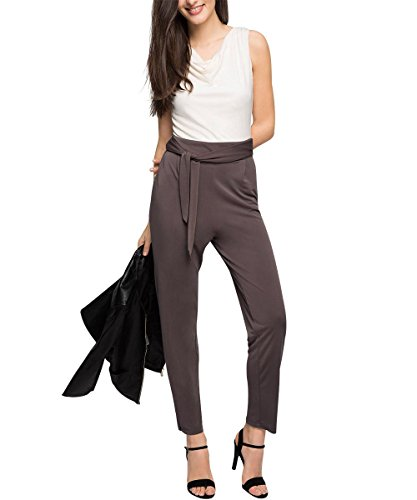 ESPRIT Collection mit Stretch - Mono Mujer, Braun (TAUPE 240), 36/L32 (Talla fabricante: S)