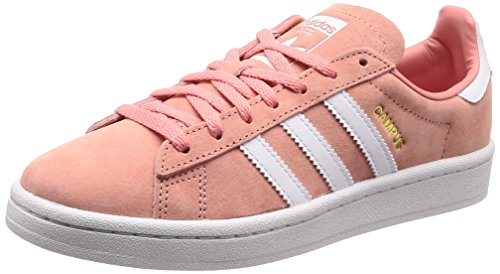 sneakers for cheap a53af 3a7ca adidas Campus W, Zapatillas para Mujer, Rosa (Tactile RoseFootwear Crystal  White