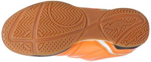 KangaROOS Hector-Combo 11035, Scarpe sportive unisex bambino Arancione (Orange (neonorange/wht/blk 705))