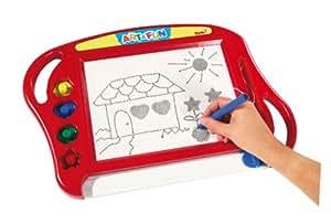 Simba 106330277H - Art and Fun Magic Drawing Board, rot