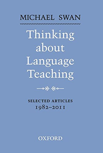 Oxford Applied Linguistics: Thinking About Language Teaching