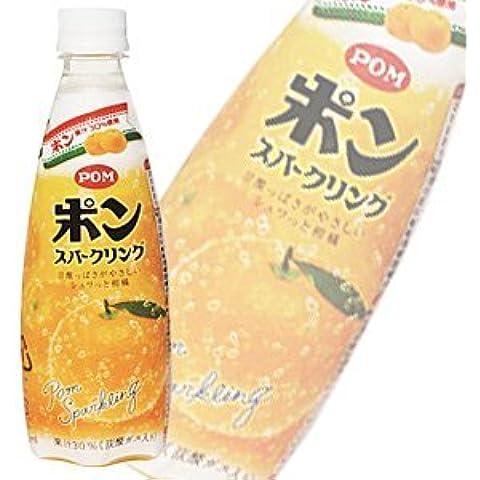 Ehime bevanda POM Pong frizzante PET410mlX24 questo [Caso X2: totale di 48 ingresso]
