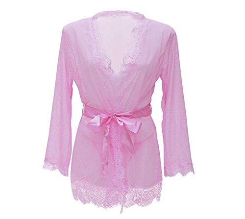 Ebess -  Camicia da notte  - Donna Pink