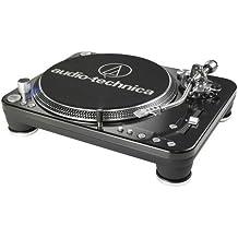 Audio-Technica DJ Direct-Drive Direct drive audio turntable Negro - Tocadiscos (Corriente alterna, 13 W, 60 Hz, Windows XP + Mac OS X +, Negro, Metal)