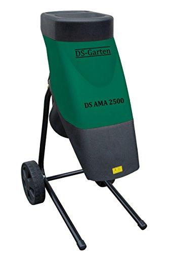 DS-GARTEN ATIKA Gartenhäcksler Holzhäcksler Elektrohäcksler Schredder DS AMA 2500 NEU