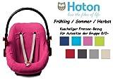 HATON BabyFit -- FROTTEE Ersatzbezug -- Frühling / Sommer / Herbst -- Universal Ersatz-Bezug für...