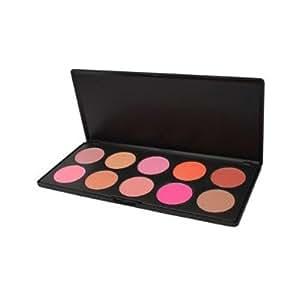 Palette 2# Rouge Fard à Joues Blusher 10 Couleurs Maquillage Cosmétique