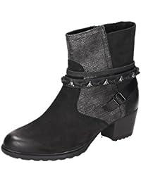 Gabor 76-592-39 Comfort Shoes - Botines de cuero mujer , schuhgröße_1:41 EU;Farbe:gris