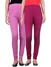 Belmarsh Warm Leggings - Pack of 2 (Bpink_Mouve)