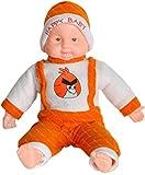 #7: Richy Toys Laughing Baby Stuffed Soft Plush Toy Love Girl (Orange)