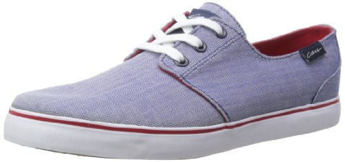 C1rca Crip, Sneakers Basses Adulte Mixte Bleu (blue/red)