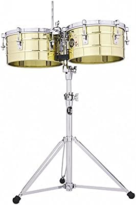 Latin Percussion Tito Puente LP256-B Solid Brass · Timbales