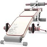 LAZ Verstellbare Bank, zusammenklappbare Hantelbank für das Körpertraining Fitness Bauchbank...