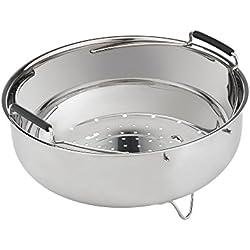 Moulinex Panier de cuisson à vapeur en acier pour Cookeo CE7061 CE8511