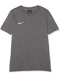 online store 839d6 c6117 Nike Club 19, T-Shirt Bambino, Grigio Charcoal Heather White 071,