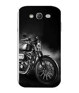 PrintVisa Black Beauty 3D Hard Polycarbonate Designer Back Case Cover for Samsung Galaxy Grand 2 :: Samsung Galaxy Grand 2 G7105 :: Samsung Galaxy Grand 2 G7102 :: Samsung Galaxy Grand Ii