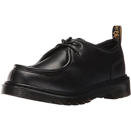 Dr Martens Juniors Noir Hambleton Moc Toe Chaussures