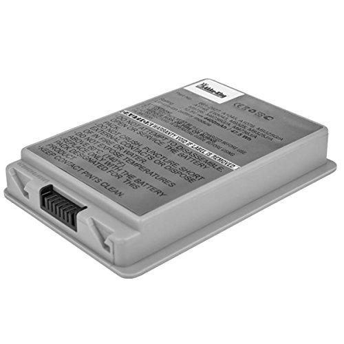 Akku für Apple PowerBook G4 15 Zoll Serien: A1106 - ersetzt A1045, A1078, A1148 - Li-Ion 4400mAh (Apple Powerbook G4)
