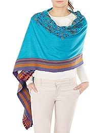 Handmade Châles mariage Wraps brodé indiennes Outfit 84x36 pouces