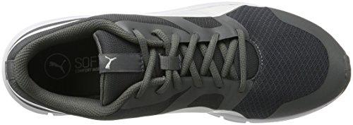 Puma Flexracer, Chaussures de Running Compétition Mixte Adulte Gris (Quiet Shade-white)