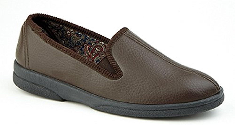 Sleepers - Zapatillas de Estar por casa diseño con Costura Central Modelo Samos II Hombre Caballero