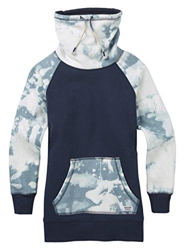 Burton Damen Fox Trot Funnel Pullover Sweatshirt Mood Indigo Bleached