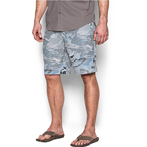 Under Armour Herren Fisch Hunter Shorts, Herren, 1300047, Ridge Reaper Camo Hy, 152 (Fisch Armour Under)