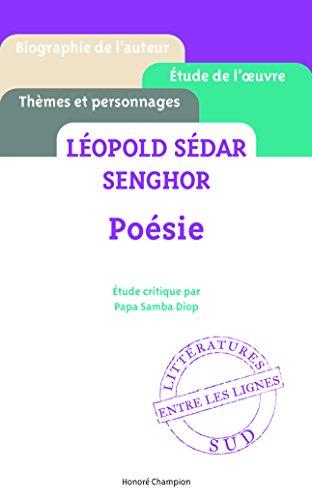 Posie - Lopold Sdar Senghor - Etude critique