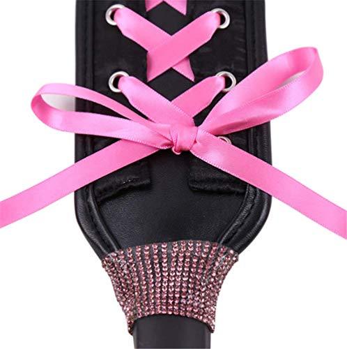 Beste Handgedrehtes Lederband Kostüm für Halloween Pink
