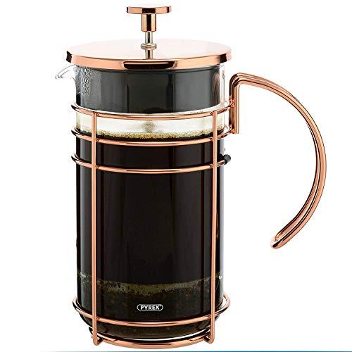 Grosche Madrid French Press Kaffee und Tee Maker Rose Gold - 1.0 L