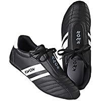 Kwon Dynamic - Zapatillas de entrenamiento para artes marciales, color negro y blanco, color negro - negro, tamaño 37