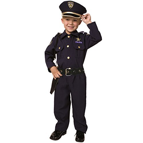 Police Officer Costume 2T by Dress Up America ()