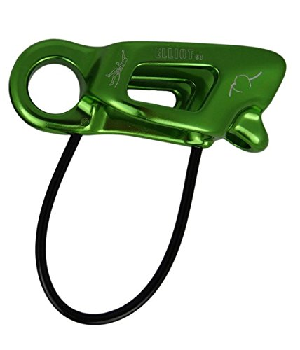ElliotST Sicherungsgerät Harlin guide (Tube, Seile 8-11 mm), Farbe:grün